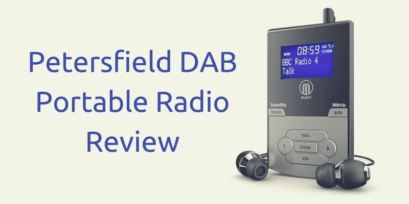 Petersfield DAB Portable Radio