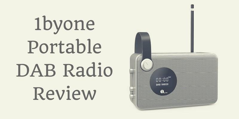 1byone Portable DAB Radio