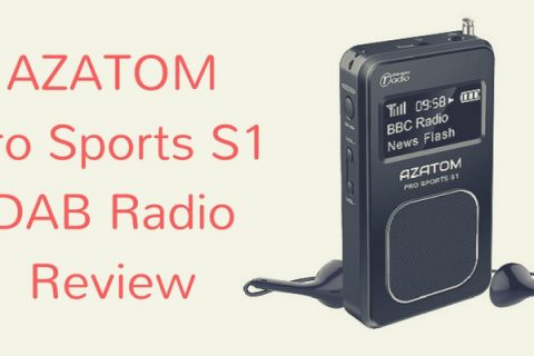 AZATOM Pro Sports S1 DAB Radio Review