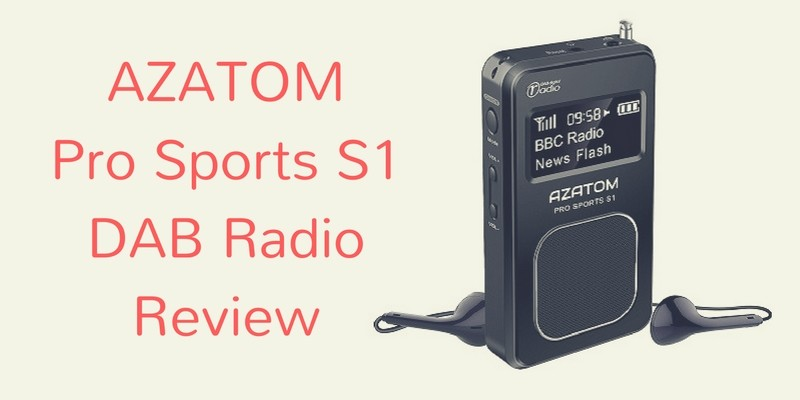 AZATOM Pro Sports S1 DAB Radio