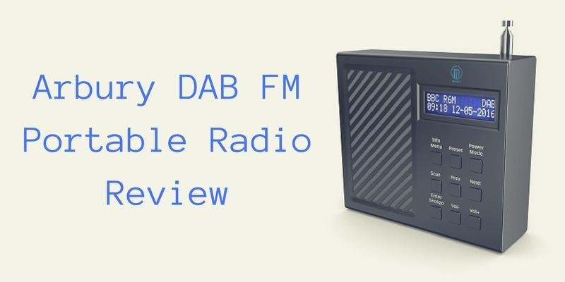 Arbury DAB FM Portable Radio