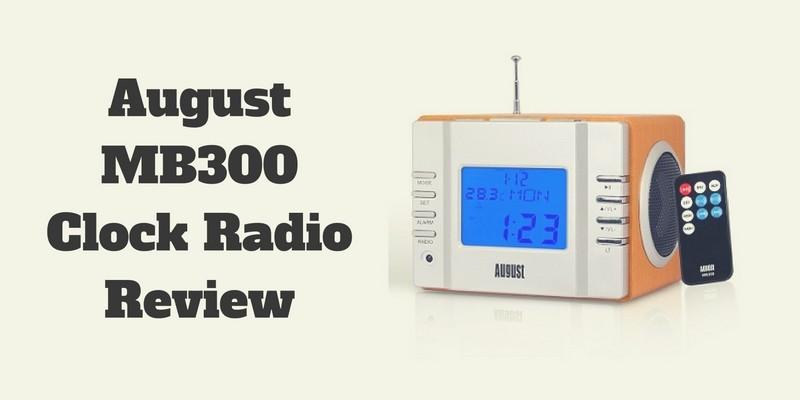 August MB300 Clock Radio