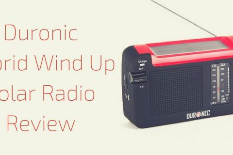 Duronic Hybrid Wind Up Solar Radio Review
