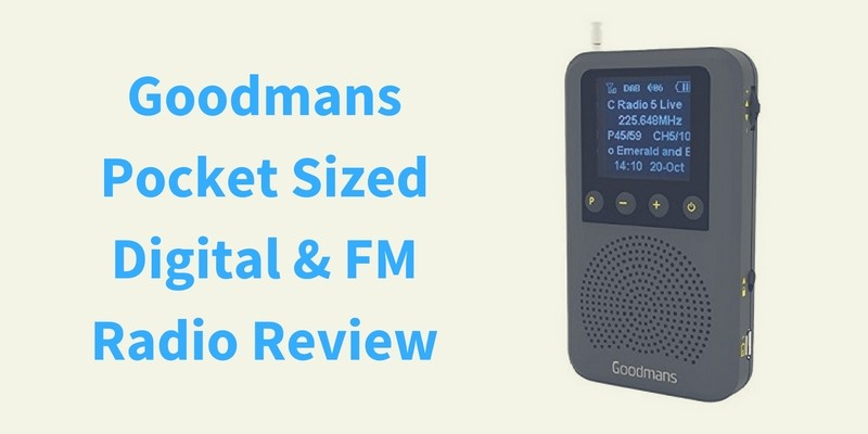Goodmans Pocket Sized Digital & FM Radio