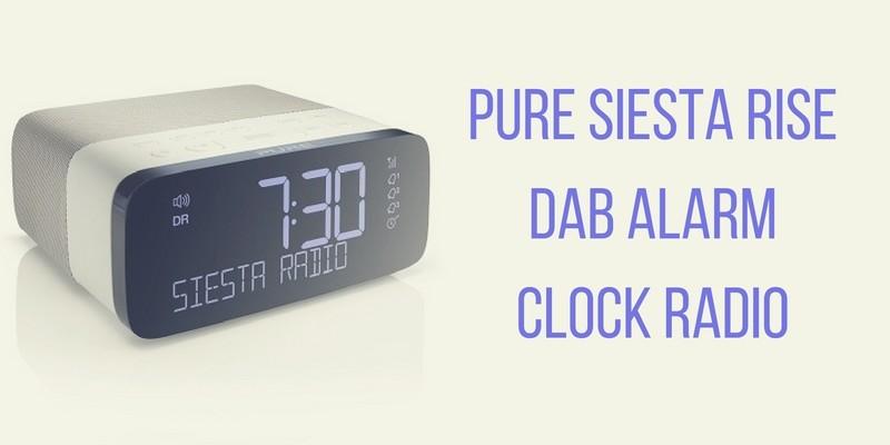 Pure Siesta Rise DAB Alarm Clock Radio