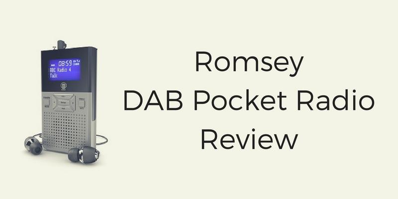 Romsey DAB Pocket Radio Review