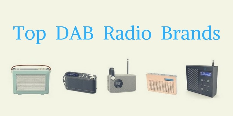 Top DAB radio brands