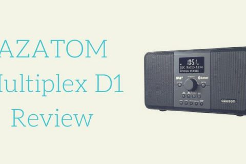 AZATOM Multiplex D1 DAB FM Radio Review
