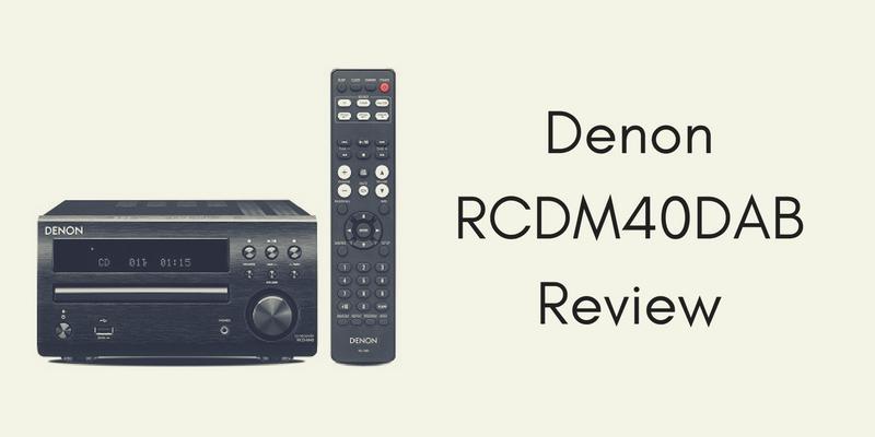Denon RCDM40DAB Review