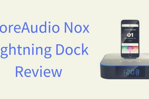 MoreAudio Nox Lightning Dock Speaker Review