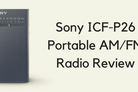 Sony ICF-P26 Portable AM/FM Radio Review