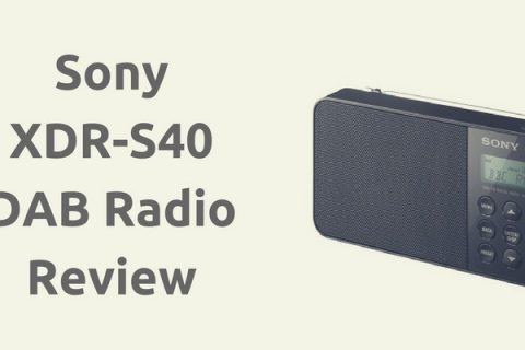 Sony XDR-S40 DAB Radio Review