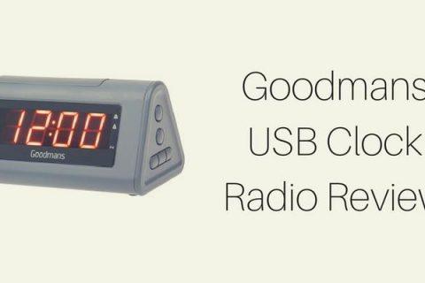 Goodmans USB Clock Radio Review