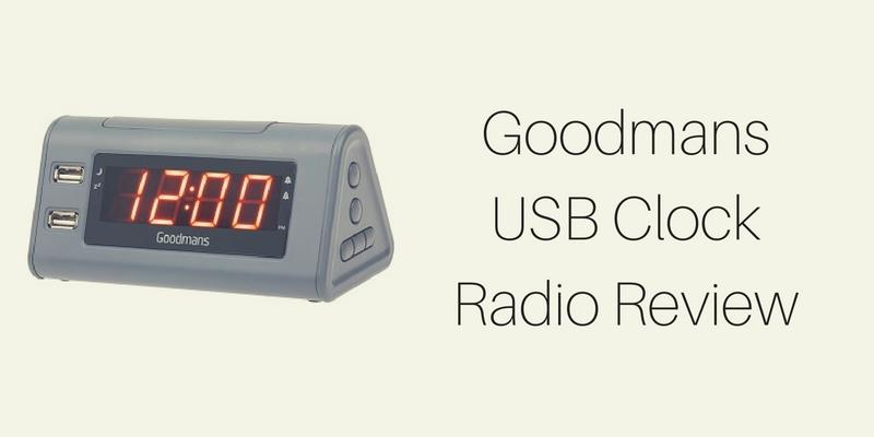 Goodmans USB Clock Radio Review