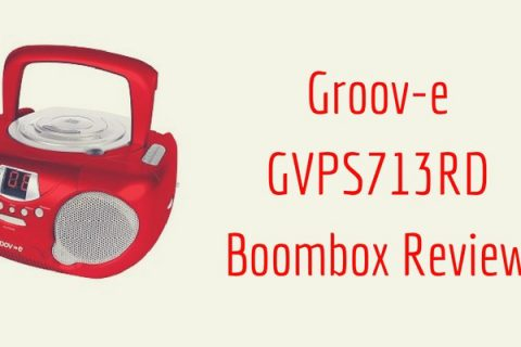 Groov-e GVPS713RD Boombox Review