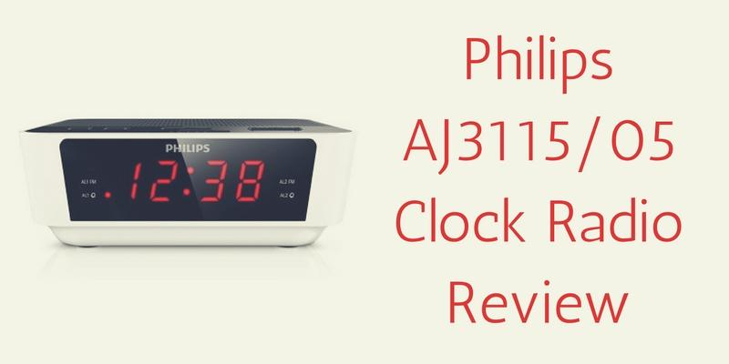 Philips AJ3115/05 Clock Radio Review