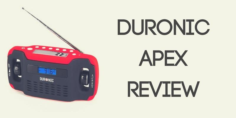 Duronic Apex Wind-Up Radio Review