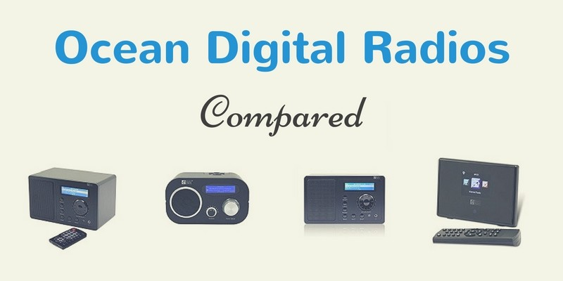 Ocean Digital Radios Compared
