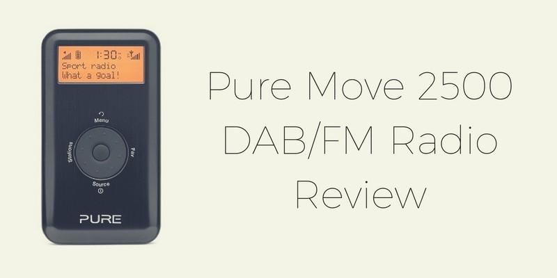 Pure Move 2500 DAB FM Radio Review