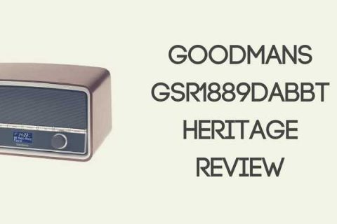 Goodmans GSR1889DABBTW Heritage Radio Review