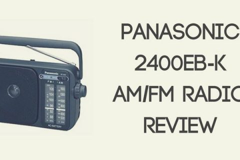 Panasonic 2400EB-K Portable AM/FM Radio Review