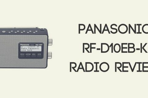 Panasonic RF-D10EB-K Portable Radio Review