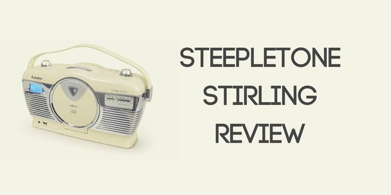 Steepletone Stirling Portable Music System Review