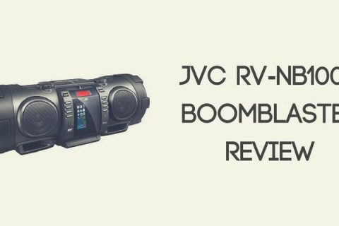 JVC RV-NB100B BoomBlaster Review