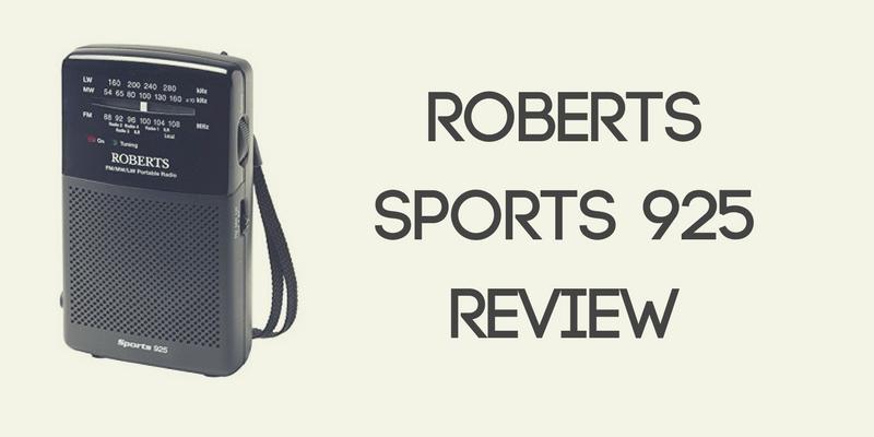 Roberts Sports 925 Radio Review