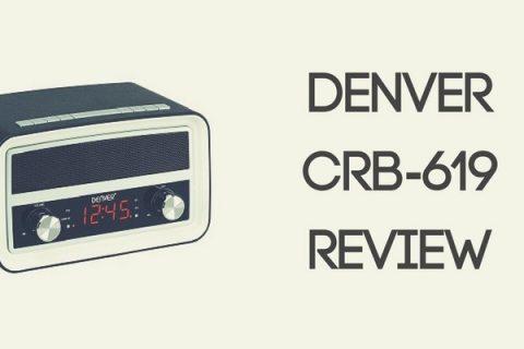 Denver CRB-619 Retro Clock Radio Review