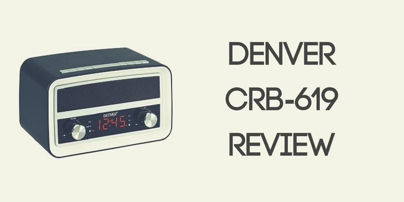 Denver CRB-619 Retro Clock Radio Review