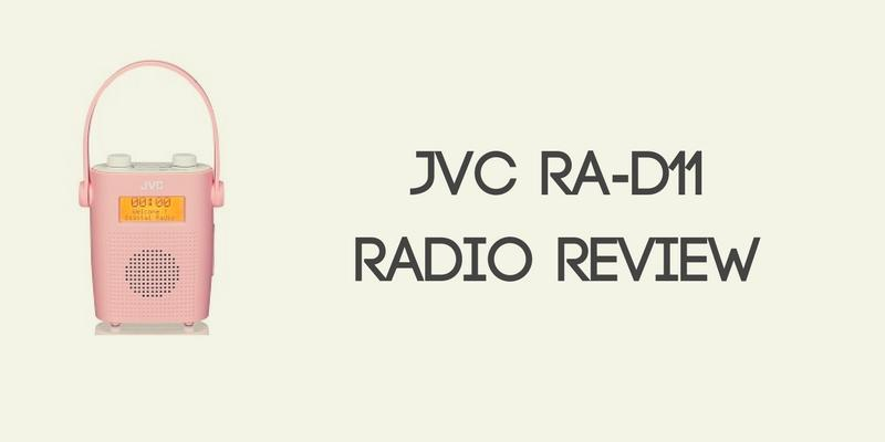 JVC RA-D11 Portable Radio Review