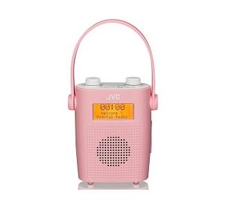 JVC RA D11 Portable Radio