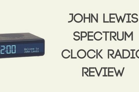 John Lewis Spectrum Clock Radio Review