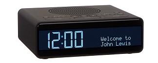 John Lewis Spectrum Clock Radio