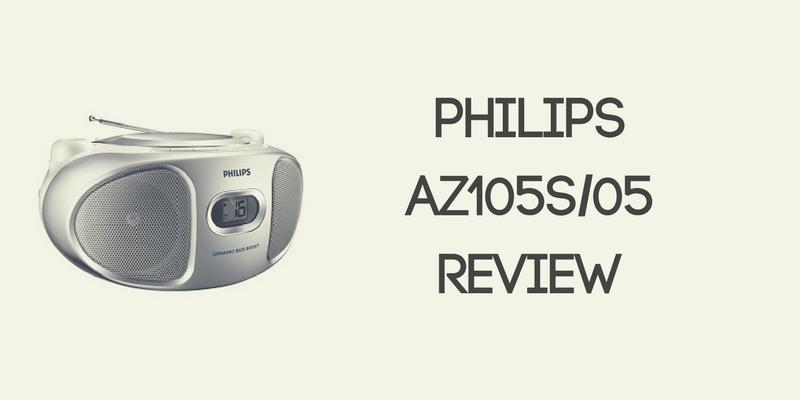 Philips AZ105S 05 Portable Stereo Review