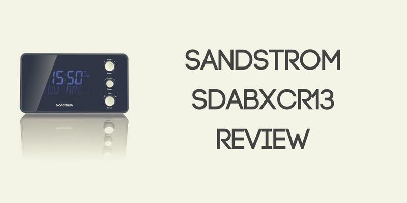 Sandstrom SDABXCR13 Radio Review