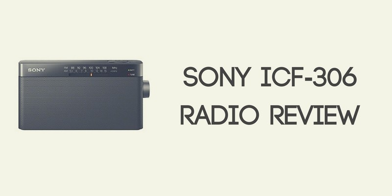 Sony ICF-306 Radio Review