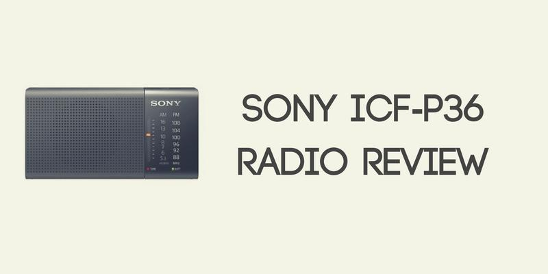 Sony ICF-P36 Radio Review