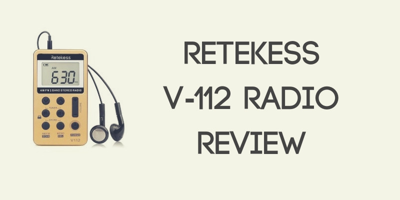 Retekess V-112 Radio Review