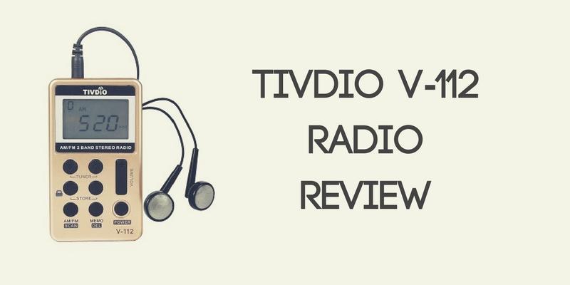 Tivdio V-112 Pocket AM FM Radio Review