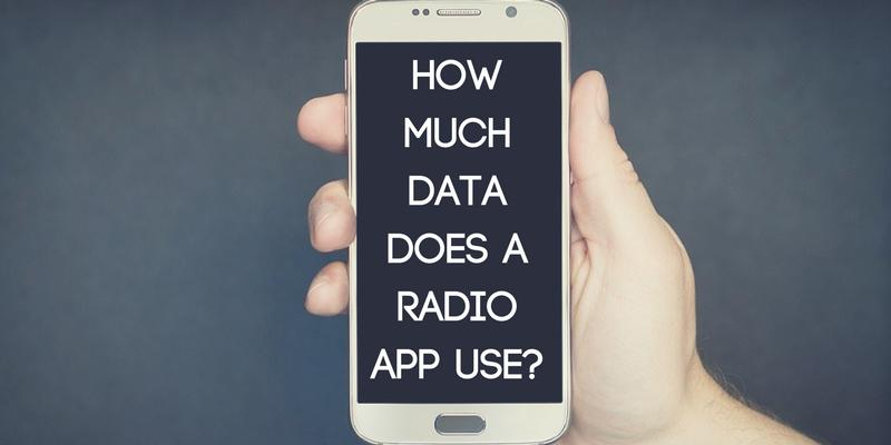 How Much Data Does a Radio App Use