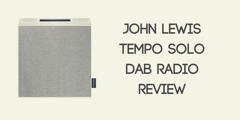 john lewis tempo solo dab radio review best radios. Black Bedroom Furniture Sets. Home Design Ideas