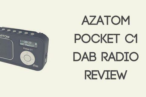 AZATOM Pocket C1 DAB Radio Review