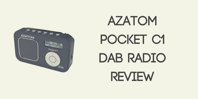 AZATOM Pocket C1 DAB Radio Review