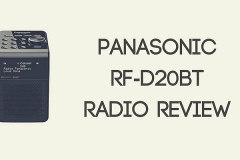 Panasonic RF-D20BT Compact Splash Proof Radio Review