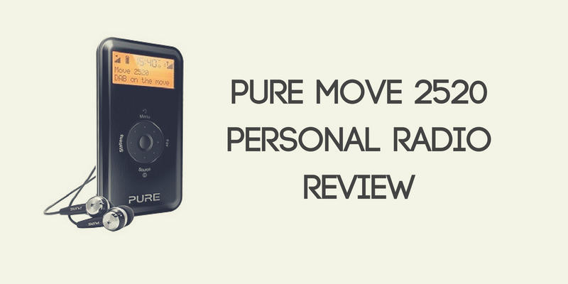 Pure Move 2520 Personal Radio Review