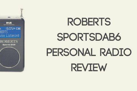 Roberts SportsDAB6 Personal Radio Review