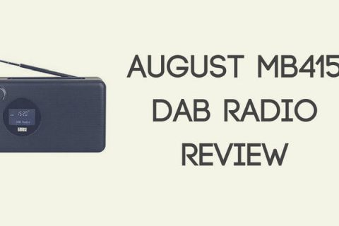 August MB415 DAB Clock Radio Review