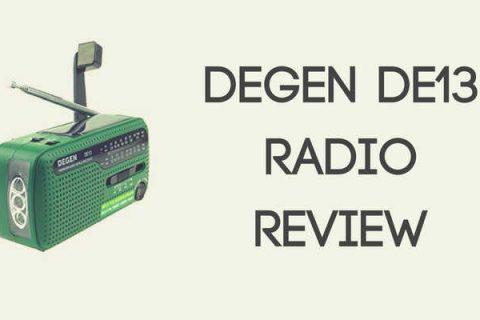 Degen DE13 Crank Solar Radio Review